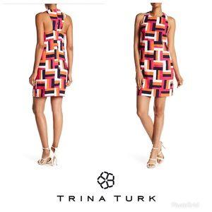 Trina Turk geometric dress. NWT